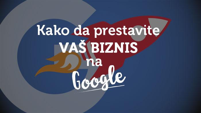 kako da predstavite vaš biznis na google