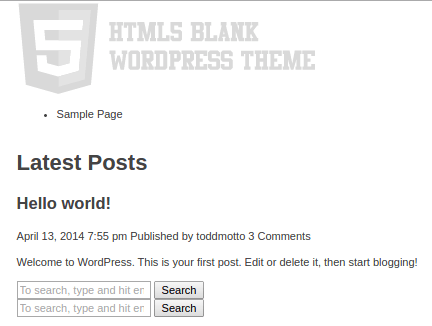 html5 blank wordpress odabir wordpress teme