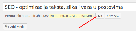 optimizacija linkova u tekstu