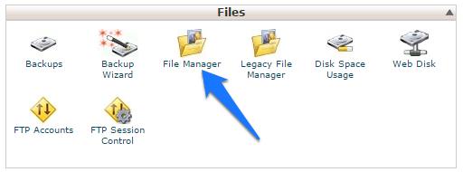 uploud wordpress sajta file manager
