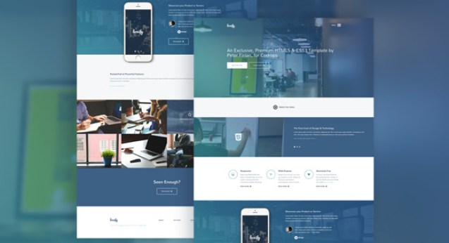 Boxify_Featured one page design