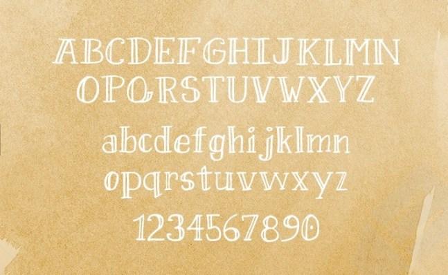 Sweet pineapple font free