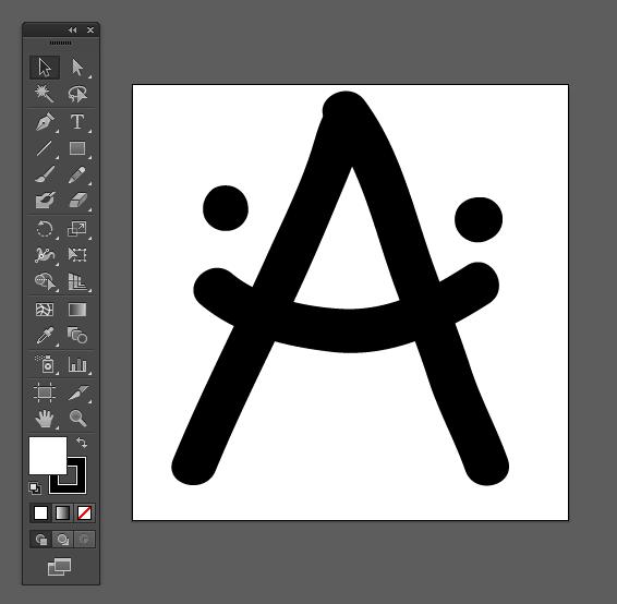 Adriahost - crtanje fontova u illustratoru