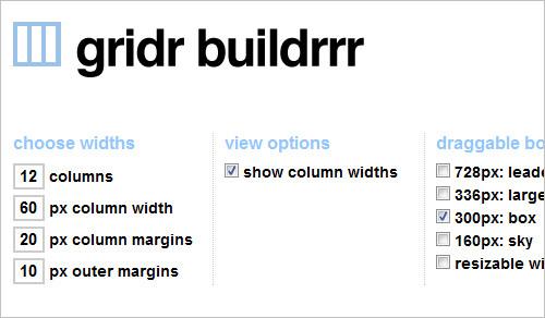 gridr buildrr