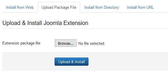 Joomla - extensions slika 3
