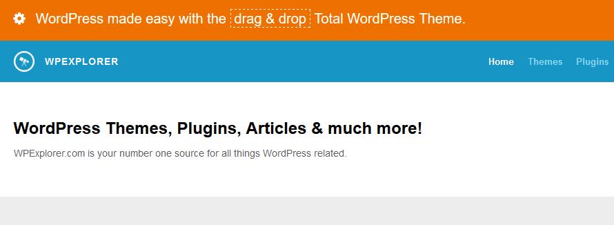 Gde kupiti premium temu za WordPress - WPExplorer