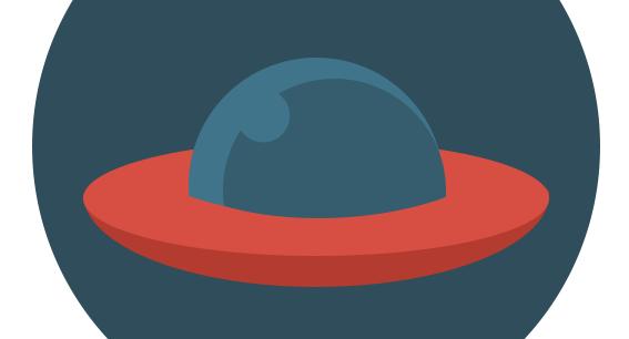 Flat ikonica NLO - Adriahost blog slika 10