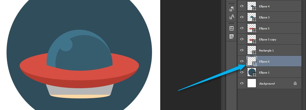 Flat ikonica NLO - Adriahost blog slika 14