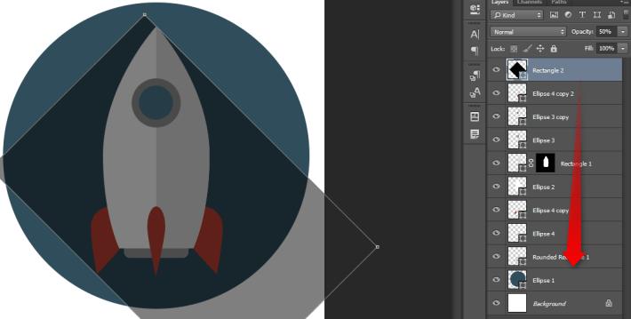 Izrada Flat ikonica u Photoshopu slika 31