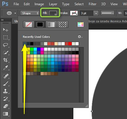 Izrada Flat ikonica u Photoshopu slika 6