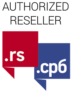 AdriaHost is authorized reseller of RS domains