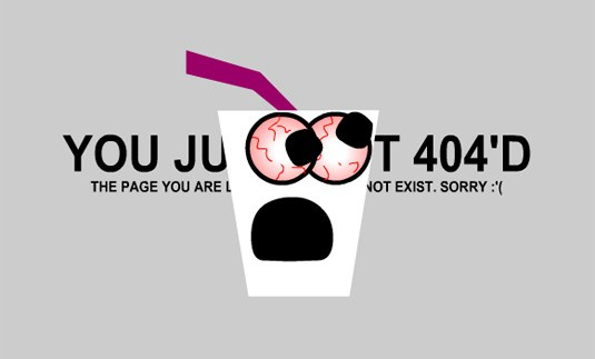 Creative and Interesting 404 Pages - tin Sanity