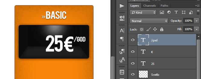 Kako napraviti cenovnik u Photoshop slika 37