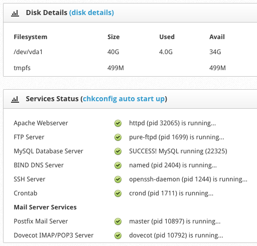 VPS server performance testing and new options