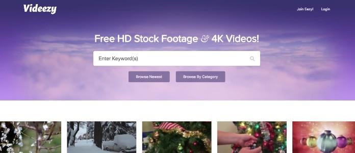 videezy video snimci besplatno
