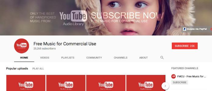 youtube free music