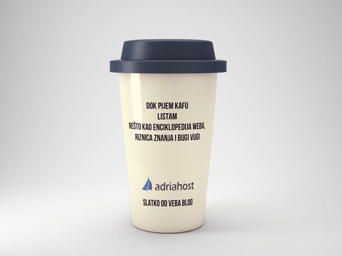 mockup šoljica za kafu