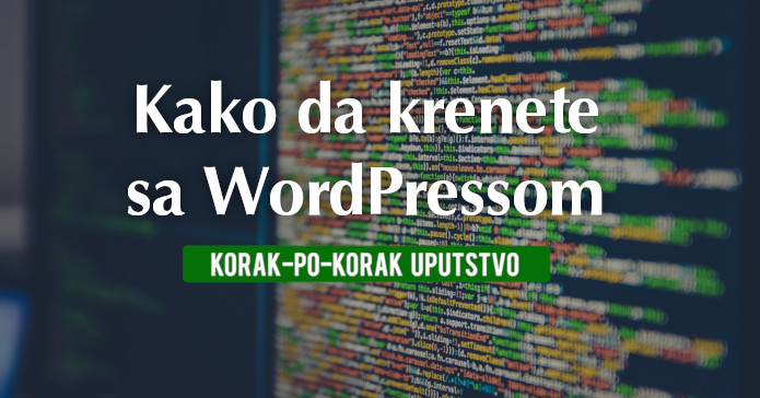 wordpress pocetak
