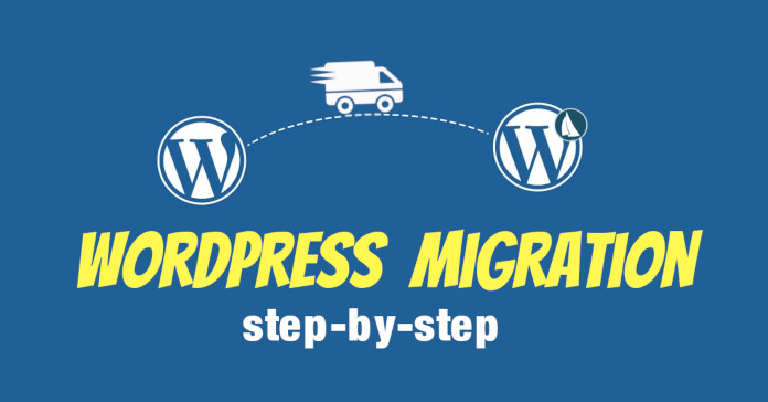 wordpress migration step by step