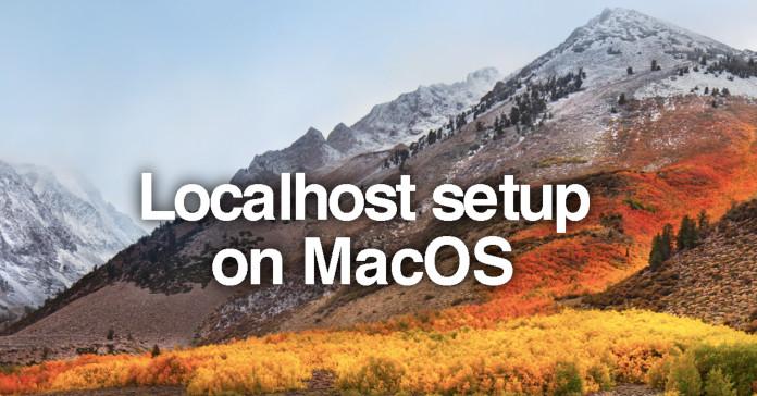 mac localhost