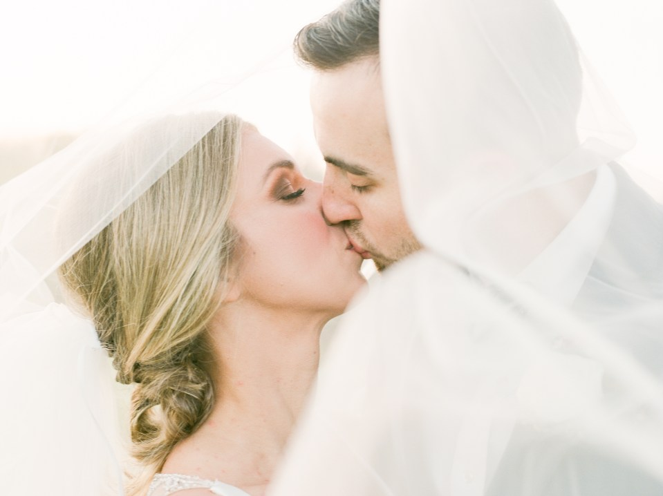 Jordan and Drake Heirloom Wedding by Adria Lea Photography, Dallas Fort Worth wedding photographer. bride and groom pictures under the veil.