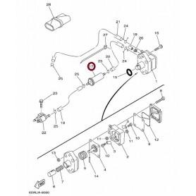 Izvenkrmni motor yamaha F9.9C F13.5A-F15A