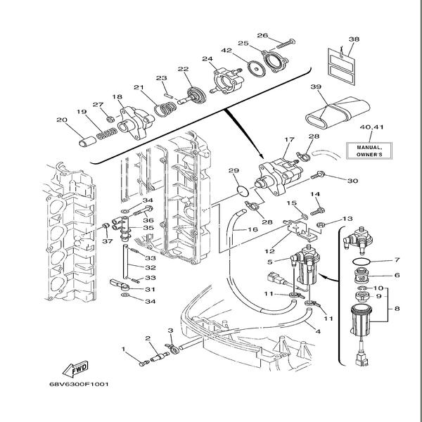 Fuel pump F115A-FL115A