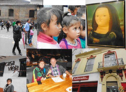Prieteni noi și vechi la Bogota