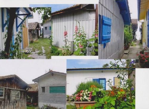 Le « quartier des pêcheurs »: Les Cabanes des ostréiculteurs, dans leur village…