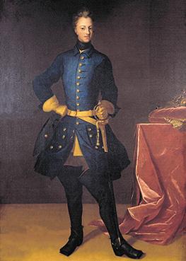 Celebrul portret al regelui Suediei Carol XII
