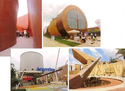 Pavilioane tradiționale (Emirate, Oman, Argentina, Ungaria)...