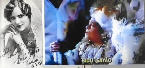 Bidou Sayao, à Bucarest en 1924 et à Rio sur le char de Beija-Flor
