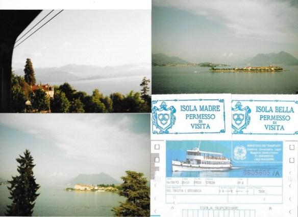 Les îles, en train et en bateau en 1993