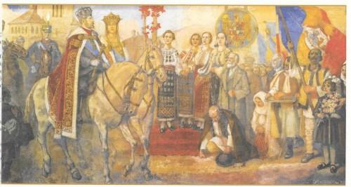 Aici erau reprezentați Carol II și Mihai I
