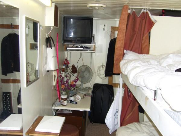 cruise ship crew quarters photos