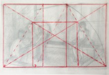 """Adriana Burgos, thumbnail for """"Physiotherapy # 2"""" with a harmonious division of the golden rectangle"""