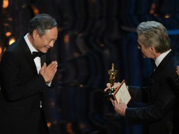 Ang Lee con la humildad que lo caracteriza