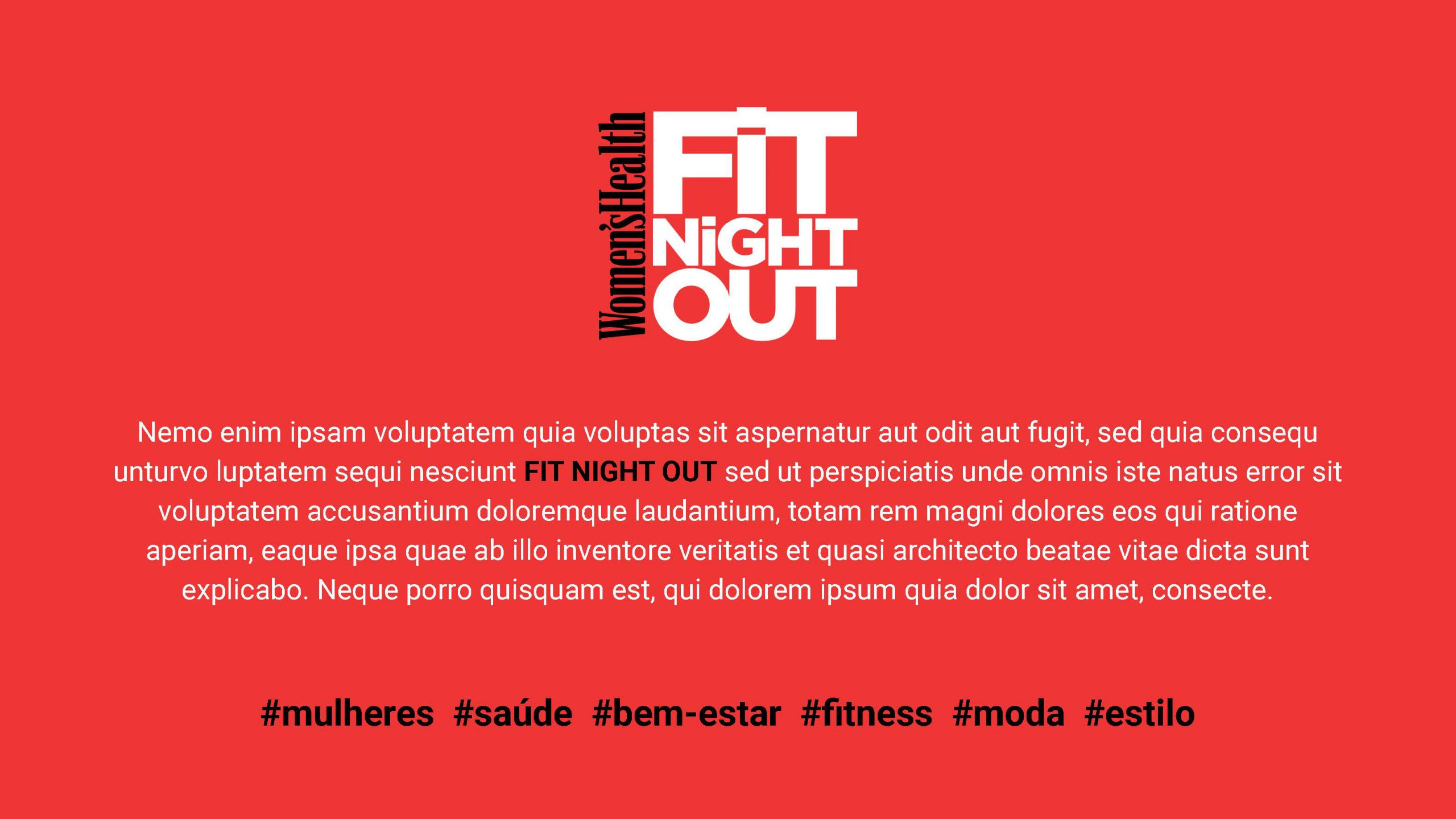 Women's Health Fit Night Out