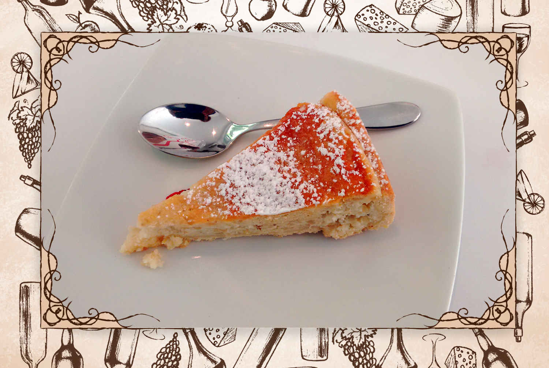 """Secreto bien guardado: """"La pastiera, postre napolitano que viene de la tradición de Maurilio. Esta torta huele a Nápoles. Es el mejor postre  que me he comido en los últimos tiempos"""".(FOTO: Adriana Gibbs)"""