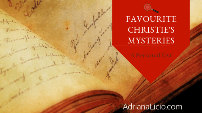 Favourite Agatha Christie's mysteries: a (rather personal) list