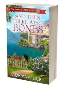 Adriana Licio And Then There Were Bones Cozy Mystery