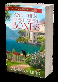 Adriana Licio And Then There Were Bones Cozy Mystery