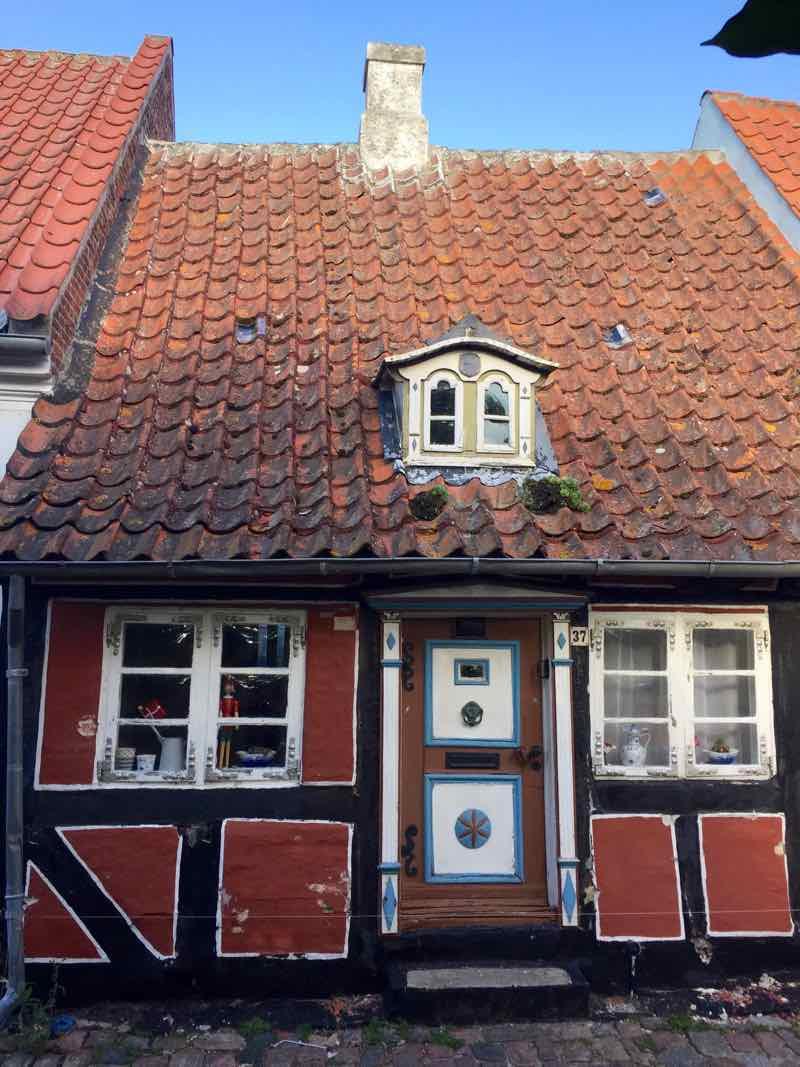 Aero Island Aeroskobing oldest houses