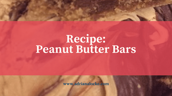 Recipe: Peanut Butter Bars