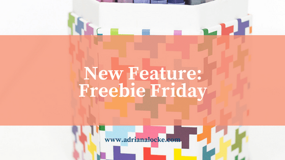 New Feature: Freebie Friday