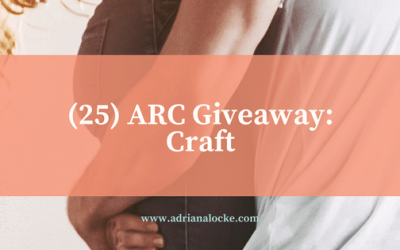 (25) ARC Giveaway of Craft