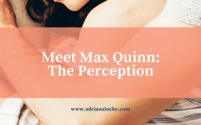 Meet Max Quinn: The Perception