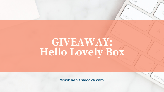 Giveaway: Hello Lovely Box (Fall Edition)