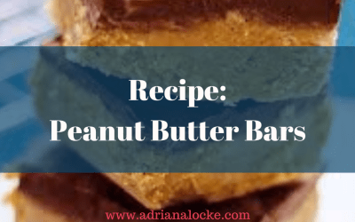Recipe: Peanut Butter Bars
