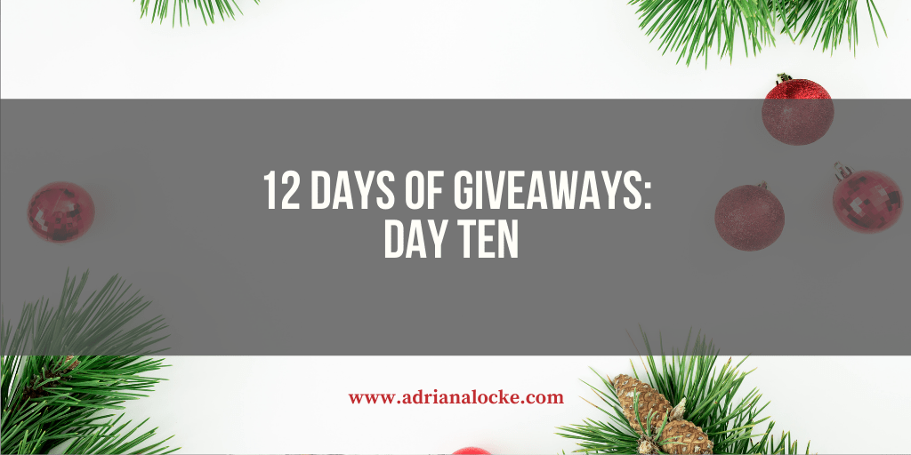 12 Days of Giveaways: Day 10